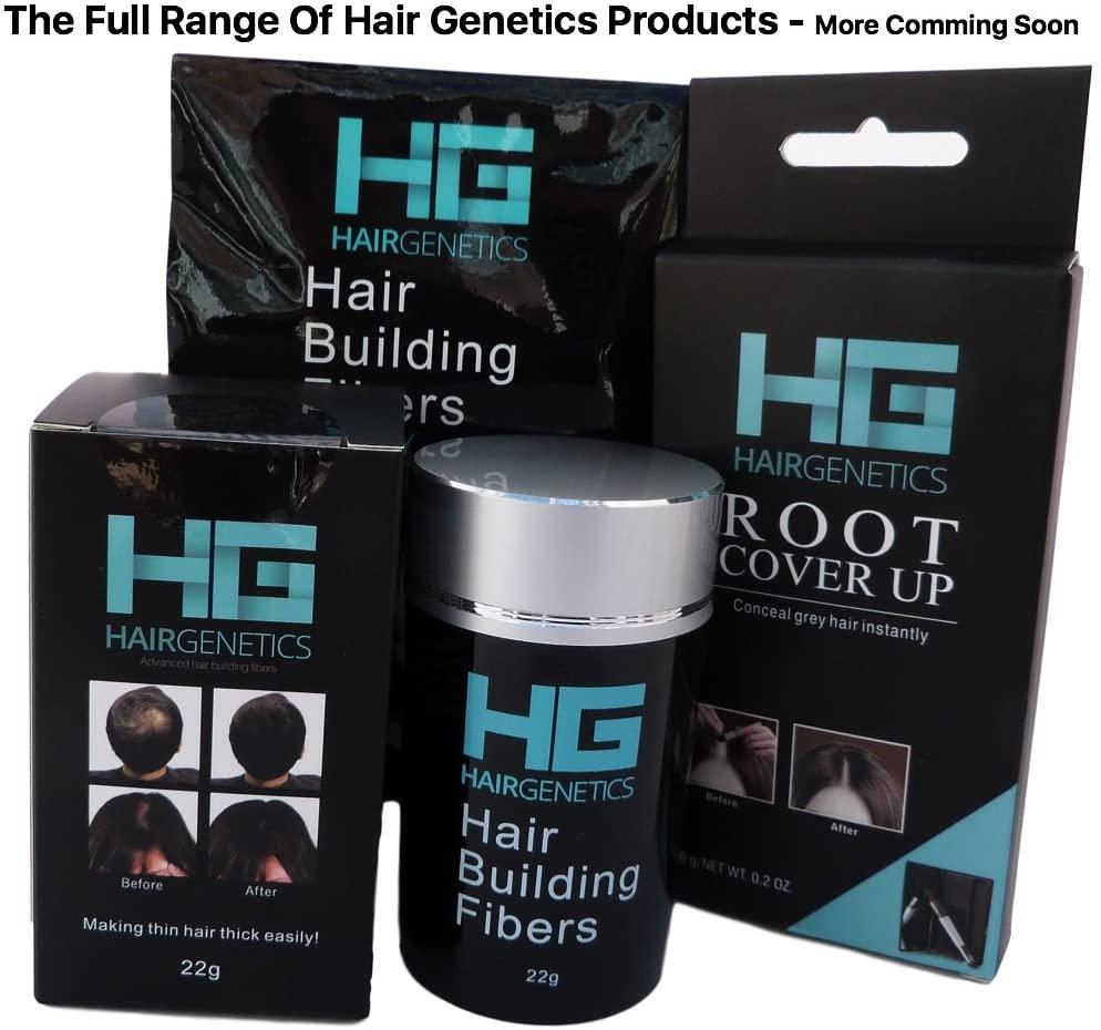 Hair Genetics® Retouche-Racines pour Cacher les Cheveux Gris