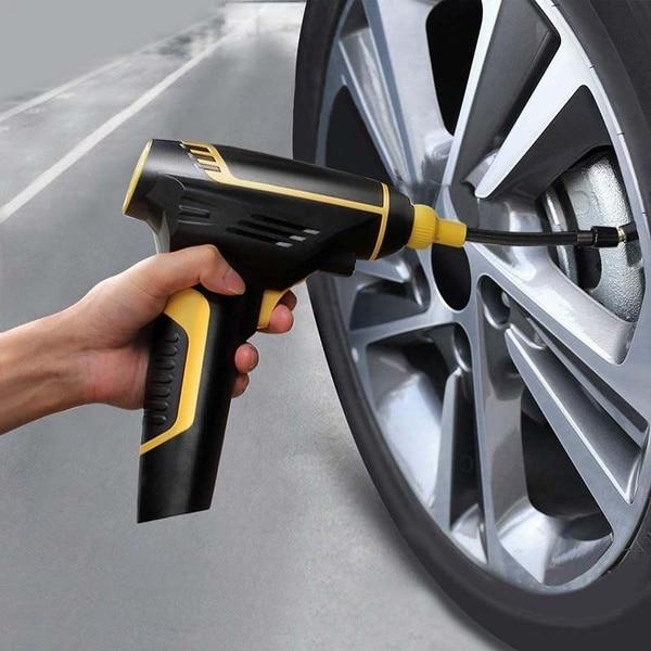 compresseur portable pneus voiture - Quelles sont les caractéristiques d'un compresseur d'air portatif ?